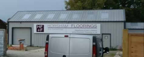 Horsham Floor Finishes Warehouse and Showroom